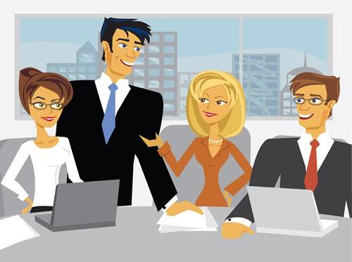 תקשורת ברשת החברתית הפנים ארגונית